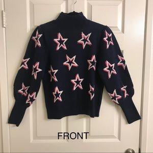 NWT GAP Star Sweater